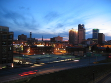 Skyline Of City Of Little Rock Arkansas