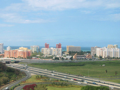 Skyline Of Isla Verde Carolina