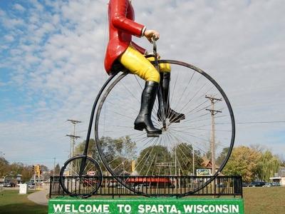 Skyline Of Sparta Wisconsin