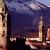 Skyline With Karwendel Range, Hall In Tirol