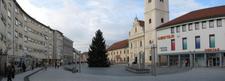 Skyline Of City Of Akovec