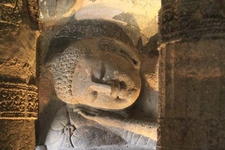 Sleeping Buddha Ajanta Caves