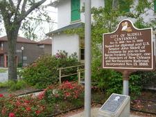 Slidell Historical Marker