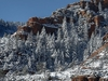 Slide Rock State Park In Snow