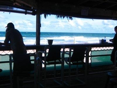 Small  Music  Venue  On  Beach