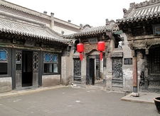 Small Palace In Rural Shanxi