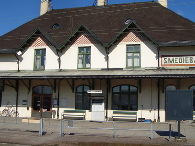 Smedjebacken Railway Station