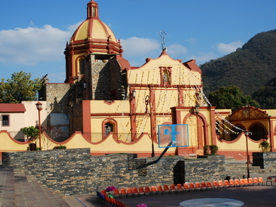 Mission Church Of Ahuacatlan