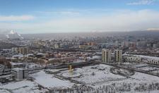 Smog Filled Ulaanbaatar & Zaisan Memorial