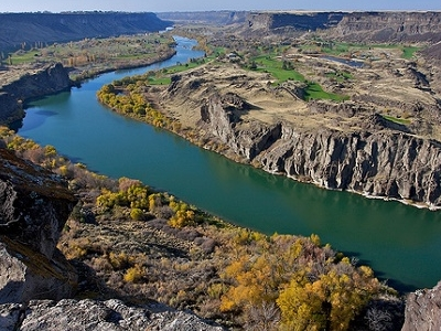 Snake River Canyon Overview ID
