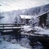 Snow At Chena Hot Springs