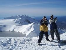 Snowboarders - Turoa - North Island NZ