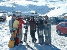 Snowboarding Team @ Turoa - Tongariro - North Island NZ