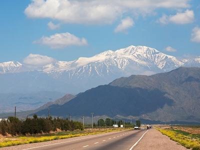 Snow Clad Mount Aconcagua - Argentina