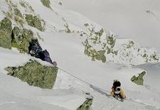 Snow Covered Fagaras Mountains