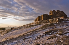 Snow & Wind In La Mola - Catagonia Spain