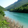 The Soca River Near Solkan