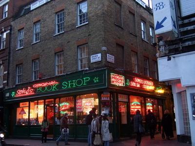 Soho's Book Shop On Brewer Street