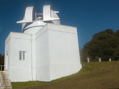 Solar Tunnel Telescope At Kodaikanal