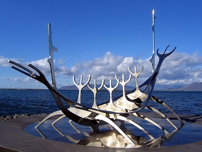 Solfar Sculpture - Reykjavik Seafront