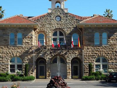 Sonoma  City  Hall