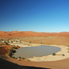Sossusvlei During An Occasional Flood