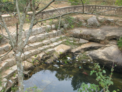 Source Of  Arkavathy River At Nandi Hills Date