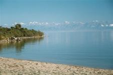 Southern Shore Of Lake Issyk Kul