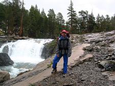 South Fork Cascade Canyon Hiker - Grand Tetons - Wyoming - USA