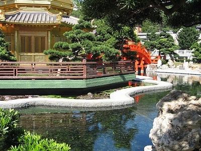 South Garden Newar Chi Lin Nunnery - Kowloon HK