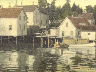 Southport Landing In 1910