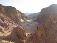 South Sinai Colored Canyon
