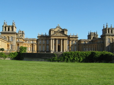 South View Of Blenheim Palace