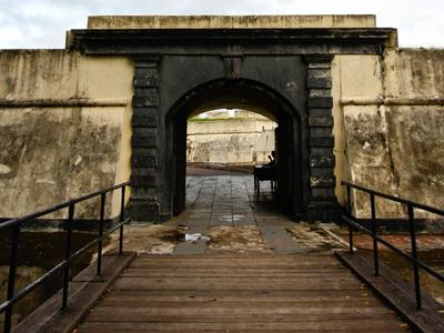 Southwest Arch Entrance Of Fort Marlborough