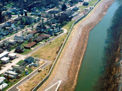 South  Williamson  Kentucky Aerial View