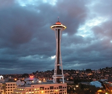 Space Needle In Seattle WA