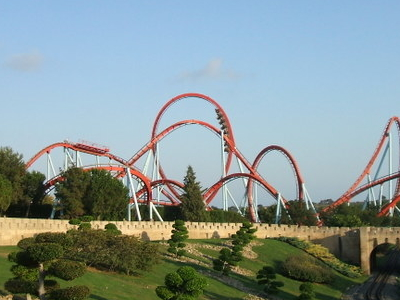The Rollercoaster Dragon Khan