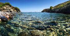 Spain Catalonia Coastal Landscape