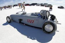 Speed Events On Bonneville Salt Flats