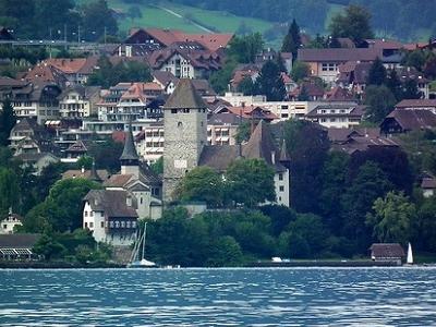 Spiez Castle From Oberhofen