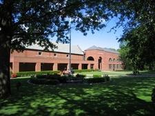 Exterior Of Spiro Sports Center
