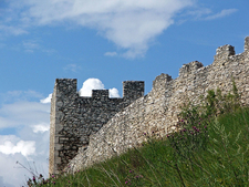 Spis Castle Wall And Tower