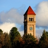 Spokane Clock Tower In Riverfront Park WA