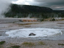 Spouter Geyser View