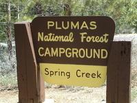 Plumas Spring Creek Campground