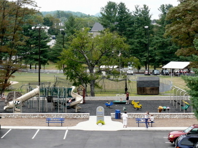 Community Park In Spruce Pine.