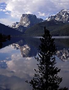 Square Top Mountain & Green River Lake