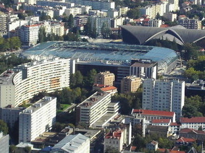 Stade Des Alpes In City