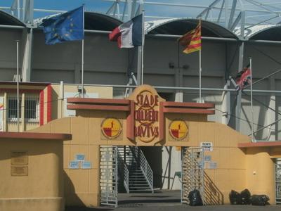 Stade Gilbert Brutus Front Gate