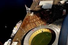 Stadium & Cruise Liners @ Wellington NZ